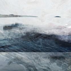 vancouver island, west coast, island, bc, art, original art, printmaking, print, original print, blue, grey, ocean, sea, westcoast, beach