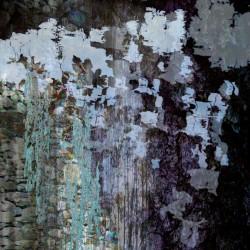 abstract landscape art in blue, periwinkle, green, grey, black, texture, mixed media, fine art photography, mixed media photo-based, mixed media digital art, mixed media digital photographs, photo-based art