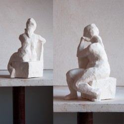 figurative sculpture by ellen scobie