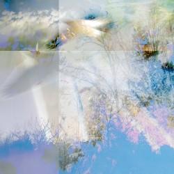 fine art photography, blue, white, ethereal, bird, conceptual, sky, clouds, mixed media, fine art photography, mixed media photo-based, mixed media digital art, mixed media digital photographs, photo-based art