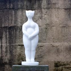 figurative sculpture by ellen scobie, vancouver sculpture studio