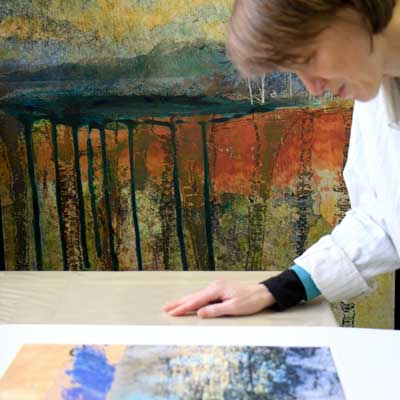 Pixels to Paint: Mixing Photography and Printmaking Yields Beautiful Results