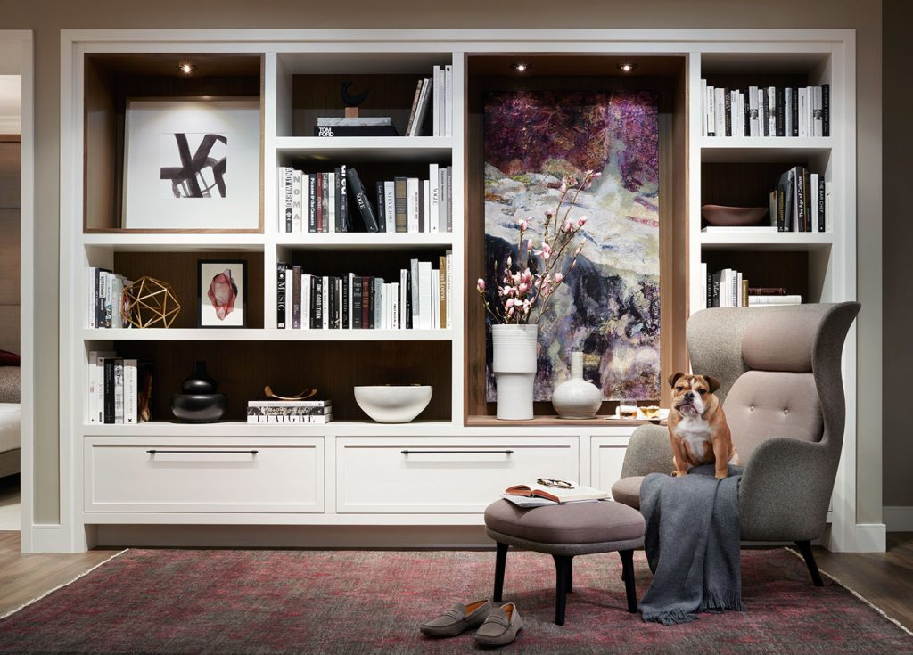 residential interior art commission