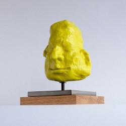 contemporary figurative portrait sculpture by ellen scobie